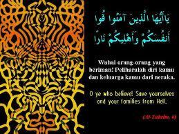 Pelihara dirimu dan keluarga