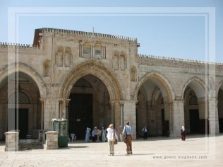 Masjid Al Aqsa in Jerusalem - Palastine (entrance)