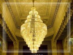 Masjid Al Kabir in Kuwait (chandelier)