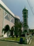 Menara Masjid Al Fajr foto A. Rozak Abuhasan 27-7-2011
