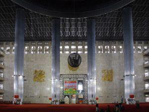Istiqlal_Mosque_Minbar