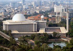 Istiqlal_Mosque_Monas Indonesia