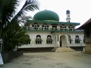 Masjid Taqwa Seritanjung, Ogan Ilir, Sumatera Selatan, Indonesia
