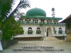 Masjid Taqwa Seritanjung-text
