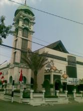 MASJID AL-FAJR, CIJAGRA RAYA,  BANDUNG (photo by a rozak abuhasan)