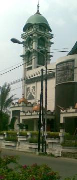 Masjid Al-Fajr Bandung-Menara